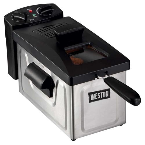 Weston 12 Cup Deep Fryer (03-1200-W)