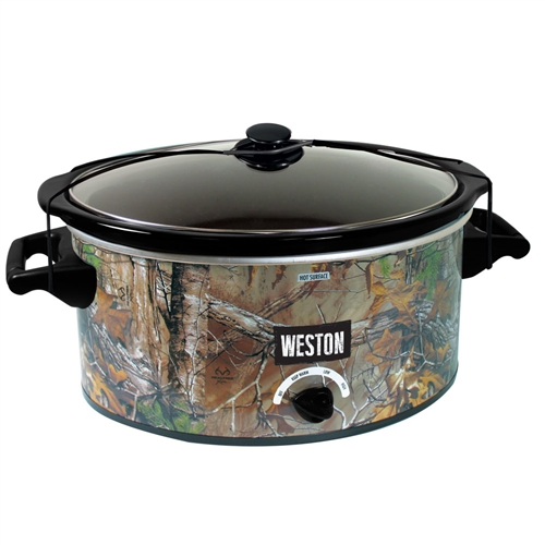 Realtree Outfitters 5 QT Slowcooker