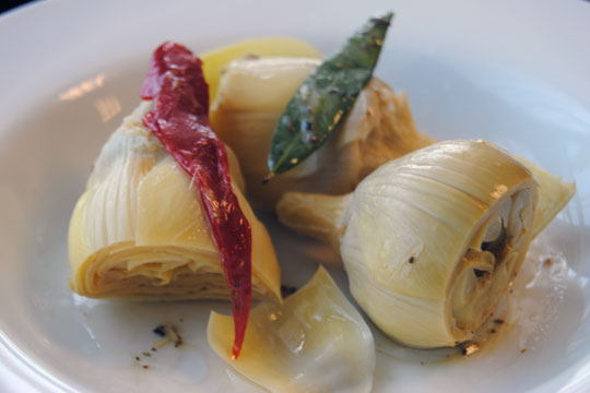 Marinated Artichokes with Weston Vacuum Sealer Canisters