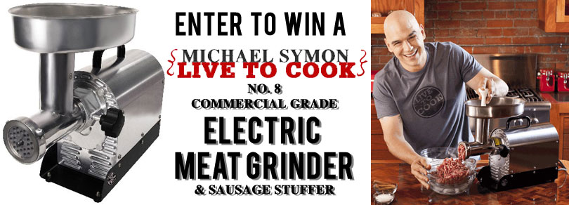 Win a Michael Symon Meat Grinder!