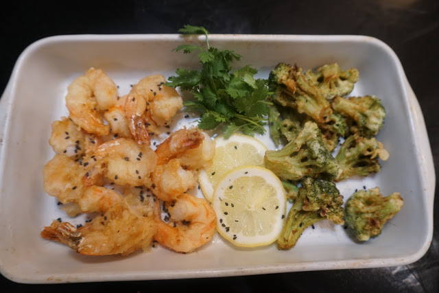 Shrimp & Broccoli Tempura
