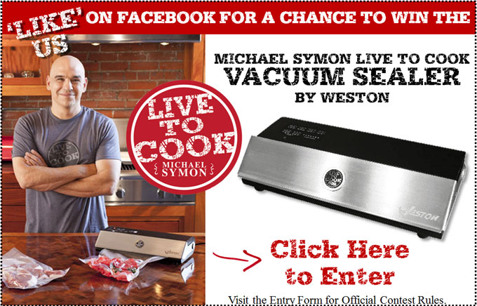 Win a Michael Symon Vacuum Sealer!