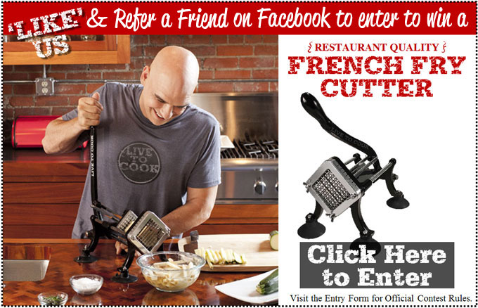Win a Michael Symon French Fry Cutter!