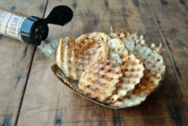 How To Make Waffle Fries with a Weston Mandoline