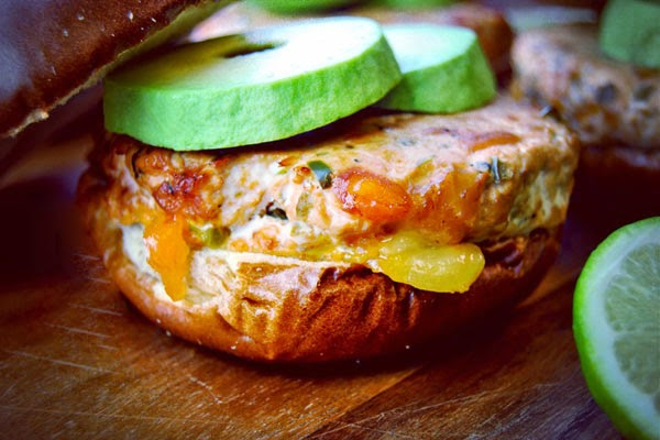 Smoked Jalapeño Cheddar Chicken Burgers in your Weston Smoker