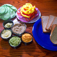 Healthy Living: Vegetable Sandwiches with the Weston Mandoline Slicer