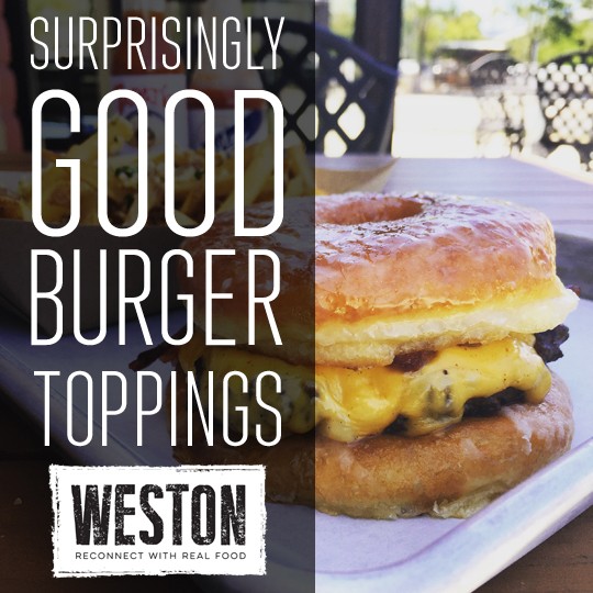 #TipTuesday: 7 Surprisingly Good Burger Toppings