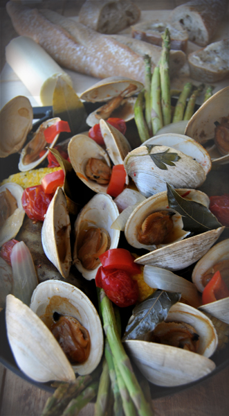 Smoked Clam Bake How To