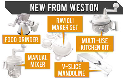 NEW Products from Weston