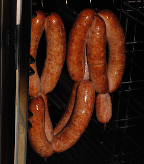 Smoked Lamb Sausage with Weston Sausage Making Products
