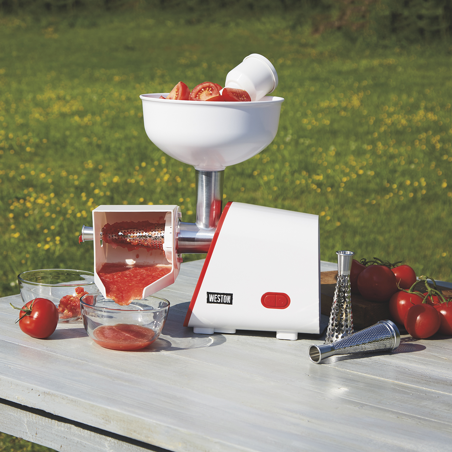 Weston Deluxe Electric Tomato Strainer
