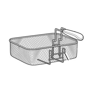 Get parts for Large Deep Fryer Basket 15-cup (03-1311)