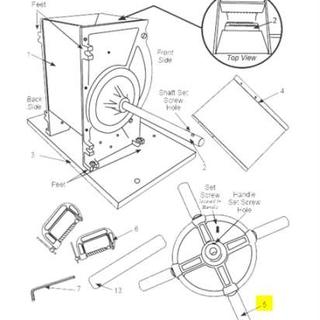 Get parts for Apple Crusher Handle (05-0213)