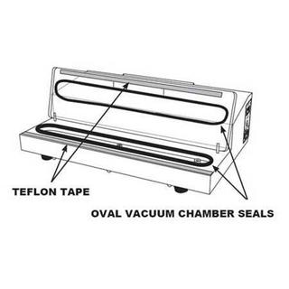 Get parts for Vacuum Sealer Chamber Oval Seal 08-0429