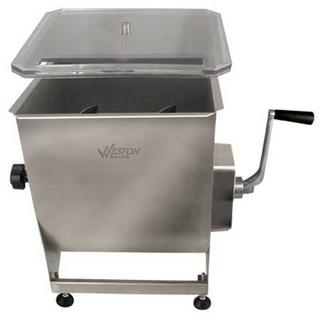 Get parts for Weston 44lb Stainless Steel Meat Mixer (36-2001-W)