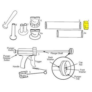 Get parts for Ring Nut, Jerky Guns (37-0505)
