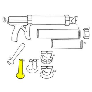 Get parts for Sausage Funnel, Jerky Guns (37-0509)