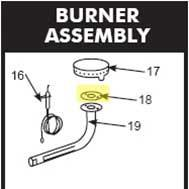 Get parts for Smoker, Gasket for 36&48in (41-0120)