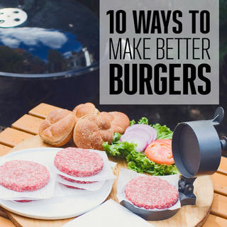 Ten Ways To Make Better Burgers icon