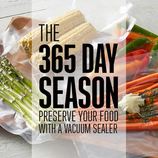 The 365 Day Season: Preserve your food with a vacuum sealer  icon